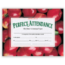 Hayes School Publishing H-VA513 Certificates Perfect 30 Pk 8.5 X 11 Attendance W/ Apples