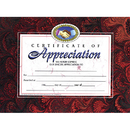 Hayes School Publishing H-VA514 Certificates Of Appreciation 30 Pk 8.5 X 11