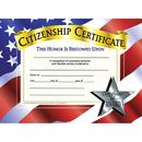 Hayes School Publishing H-VA525 Certificates Citizenship 30 Pk 8.5 X 11