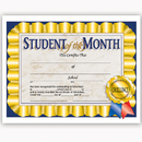 Hayes School Publishing H-VA528 Student Of The Month 30/Pk 8.5 X 11 Certificates