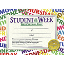 Hayes School Publishing H-VA529 Student Of The Week 30/Pk 8.5 X 11 Certificates