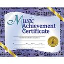 Hayes School Publishing H-VA536 Music Achievement 30/Pk 8.5 X 11 Certificates