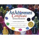 Hayes School Publishing H-VA570 Certificates Art Achievement 30/Pk 8.5 X 11
