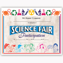 Flipside H-VA572 Certificates Science Fair 30/Pk - 8.5 X 11