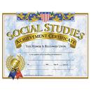 Hayes School Publishing H-VA575 Certificates Social Studies 30/Pk 8.5 X 11