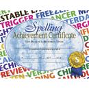 Hayes School Publishing H-VA576 Spelling Achievement 30/Pk 8.5X11 Certificates