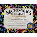 Hayes School Publishing H-VA581 Certificates Mathematics 30/Pk Achievement 8.5 X 11