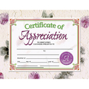 Hayes School Publishing H-VA614 Certificates Of Appreciation 30 Pk 8.5 X 11 Inkjet Laser