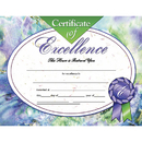 Hayes School Publishing H-VA621 Certificates Of Excellence 30/Pk 8.5 X 11 Inkjet Laser