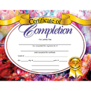 Hayes School Publishing H-VA624 Certificates Of Completion 30/Pk 8.5 X 11 Inkjet Laser