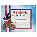 Hayes School Publishing H-VA626 Certificates Athletic Award 30/Pk 8.5 X 11 Inkjet Laser