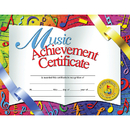 Hayes School Publishing H-VA636 Certificates Music 30/Pk 8.5 X 11 Achievement Inkjet Laser