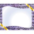 Flipside H-VA643 Music Certificate Border Computer - Paper