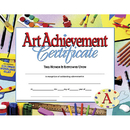 Hayes School Publishing H-VA670 Certificates Art Achievement 30 Pk 8.5 X 11 Inkjet Laser