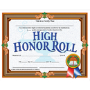 Hayes School Publishing H-VA686 High Honor Roll Achievement 30Pk Certificates