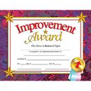 Hayes School Publishing H-VA688 Certificates Improvement 30/Pk Award 8.5 X 11 Inkjet Laser