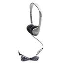 Hamilton Electronics Vcom HECMS2LV Personal Stereo Mono Headphones Leatherette Ear Cushions W/ Volume