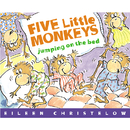 Houghton Mifflin Harcourt HO-0618836829 Five Little Monkeys Jumping On The Bed Big Book