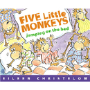 Houghton Mifflin Harcourt HO-395557011 Five Little Monkeys Jumping