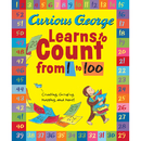 Houghton Mifflin HO-9780547998909 Curious George Learns To Count From - 1 To 100 Big Book