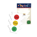Hygloss Products HYG12206 Traffic Light Kit Pack Of 6