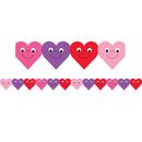 Hygloss Products HYG33618 Happy Hearts Die Cut Classroom - Border 12Pk