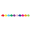 Hygloss Products HYG33630 Multi Color Fish Die Cut Classroom - Border