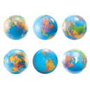 Hygloss Products HYG33719 6In Globes Die Cut Accents