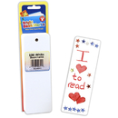 Hygloss Products HYG42611 Bookmarks 2 X 6 Ultra White 100