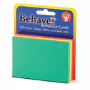 Hygloss Products HYG43525 Behavior Cards 3X5 100Pk Assorted