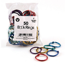 Hygloss Products HYG61351 Book Rings 1 50 Per Pack