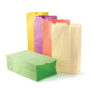 Hygloss Products HYG66289 Colorful Paper Bags Sz6 Pastel - Assorted Colors