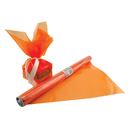 Hygloss Products HYG71504 Cello Wrap Roll Orange