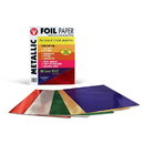 Hygloss Products HYG810 Metallic Paper 10Pk Asst Colors
