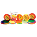 Hygloss Products HYG88155 Tissue Paper 480Ct 5In Circles - Primary Colors
