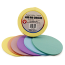 Hygloss Products HYG88255 5 In Tissue Circles Pastel 480 Pcs
