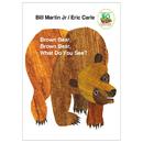 Macmillan / Mps ING0805047905 Brown Bear Brown Bear What Do You - See Board Book