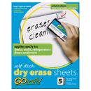 Pacon INVAS8511 Dry Erase Sheets Self Stick 8 1/2