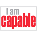 Inspired Minds ISM0002P I Am Capable Poster