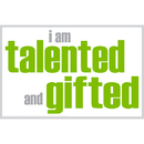 Inspired Minds ISM0003M I Am Talented And Gifted Magnet