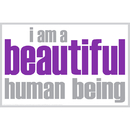 Inspired Minds ISM0004M I Am Beautiful Magnet