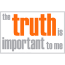 Inspired Minds ISM0011M The Truth Is Important Magnet
