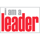 Inspired Minds ISM0012P I Am A Leader Poster