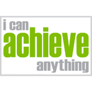 Inspired Minds ISM0013M I Can Achieve Magnet