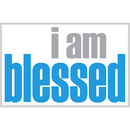 Inspired Minds ISM0015M I Am Blessed Magnet
