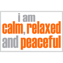 Inspired Minds ISM0017P I Am Calm Poster