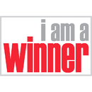 Inspired Minds ISM0018P I Am A Winner Poster