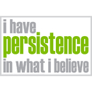 Inspired Minds ISM0020P I Have Persistence Poster