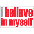 Inspired Minds ISM0021P I Believe In Myself Poster