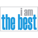 Inspired Minds ISM0022P I Am The Best Poster